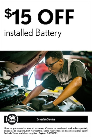 FIXED - Lexus - $15 off installed Battery