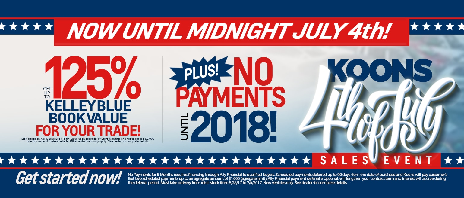 ed892598cbcc Koons 4th of July Sales Event | Koons Tysons Toyota