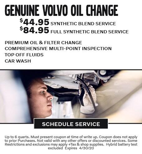 April 2020 Oil Offer - Volvo