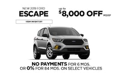 Ford 0% Financing Offer - Escape