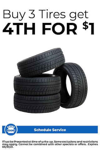 FIXED - Buy 3 Tires get 4th for $1