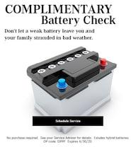April 2020 Batteries Offer - Mercedes Benz