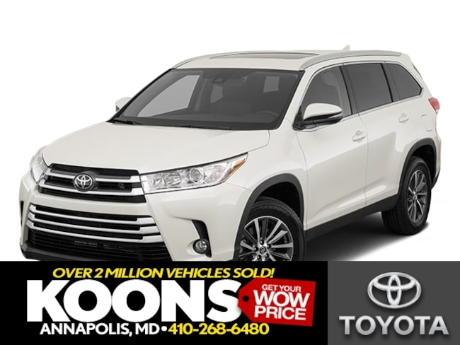 New 2019 Toyota Highlander XLE V6 SUV in Annapolis