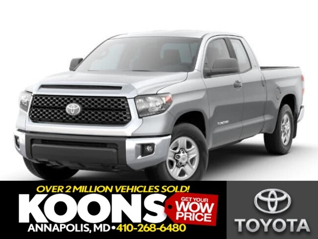 New 2019 Toyota Tundra SR5 5.7L V8 Truck Double Cab in Annapolis