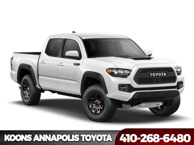 New 2018 Toyota Tacoma TRD Pro V6 Truck Double Cab in Annapolis