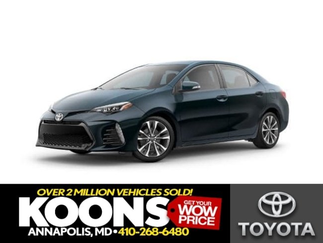 New 2019 Toyota Corolla SE Sedan in Annapolis
