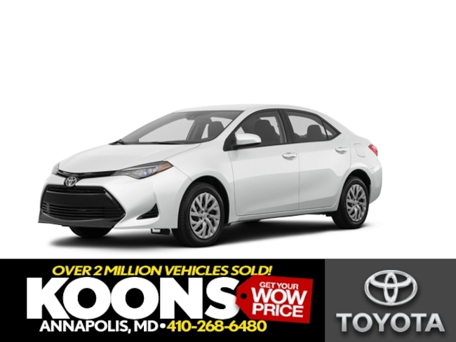 New 2019 Toyota Corolla LE Sedan in Annapolis