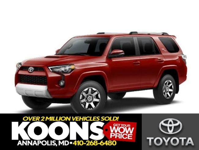 New 2019 Toyota 4Runner TRD Off Road Premium SUV in Annapolis