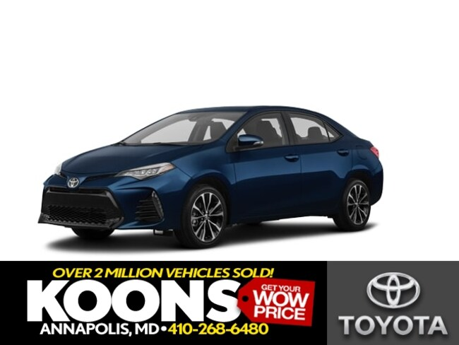 New 2019 Toyota Corolla XSE Sedan in Annapolis