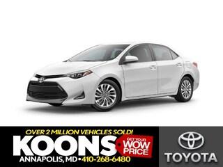 New 2019 Toyota Corolla XLE Sedan for sale Philadelphia