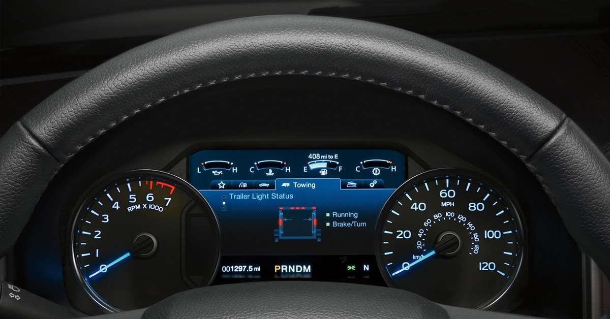 2020 Ford F150 8-Inch LCD Productivity Screen