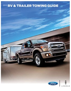 2013 Ford Towing Guide