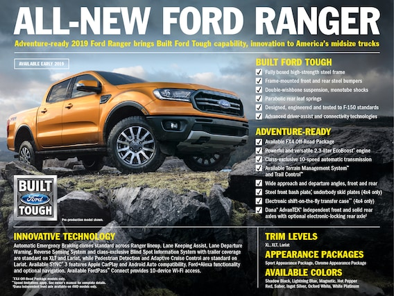 2019 Ford Ranger   Koons Ford Of Annapolis