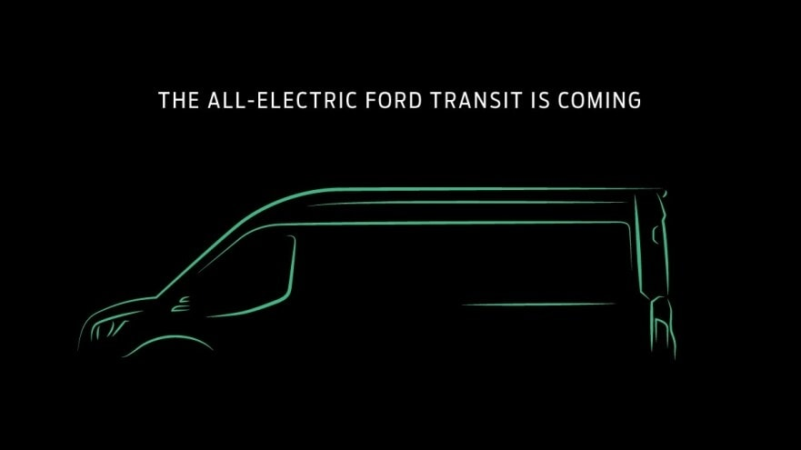 2020 Ford Transit All Electric Dealer in Annapolis Maryland