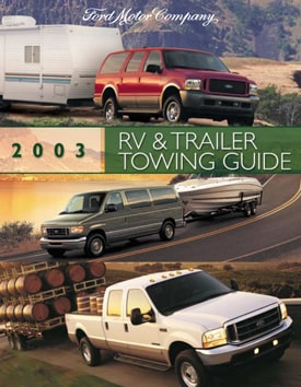 2003 Ford Towing Guide