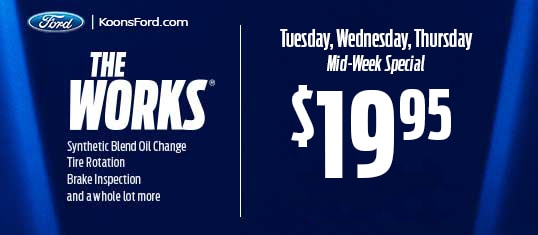 Ford The Works >> The Works Package Mid Week Offer Only 19 95