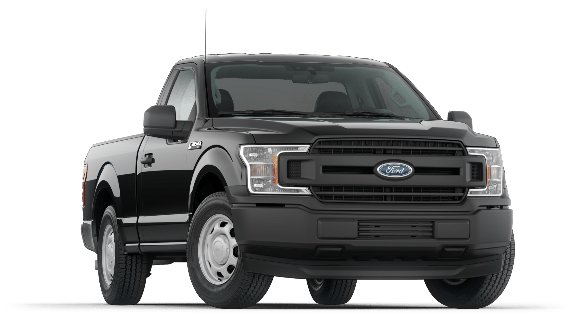 2020 Ford F150 XL Trim Regular Cab in Agate Black Exterior