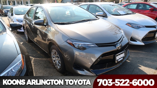 New 2019 Toyota Corolla LE Sedan in Arlington