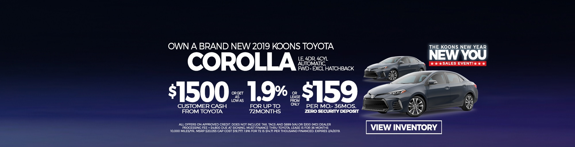 Koons Arlington Toyota Toyota Dealership In Arlington Serving Virginia