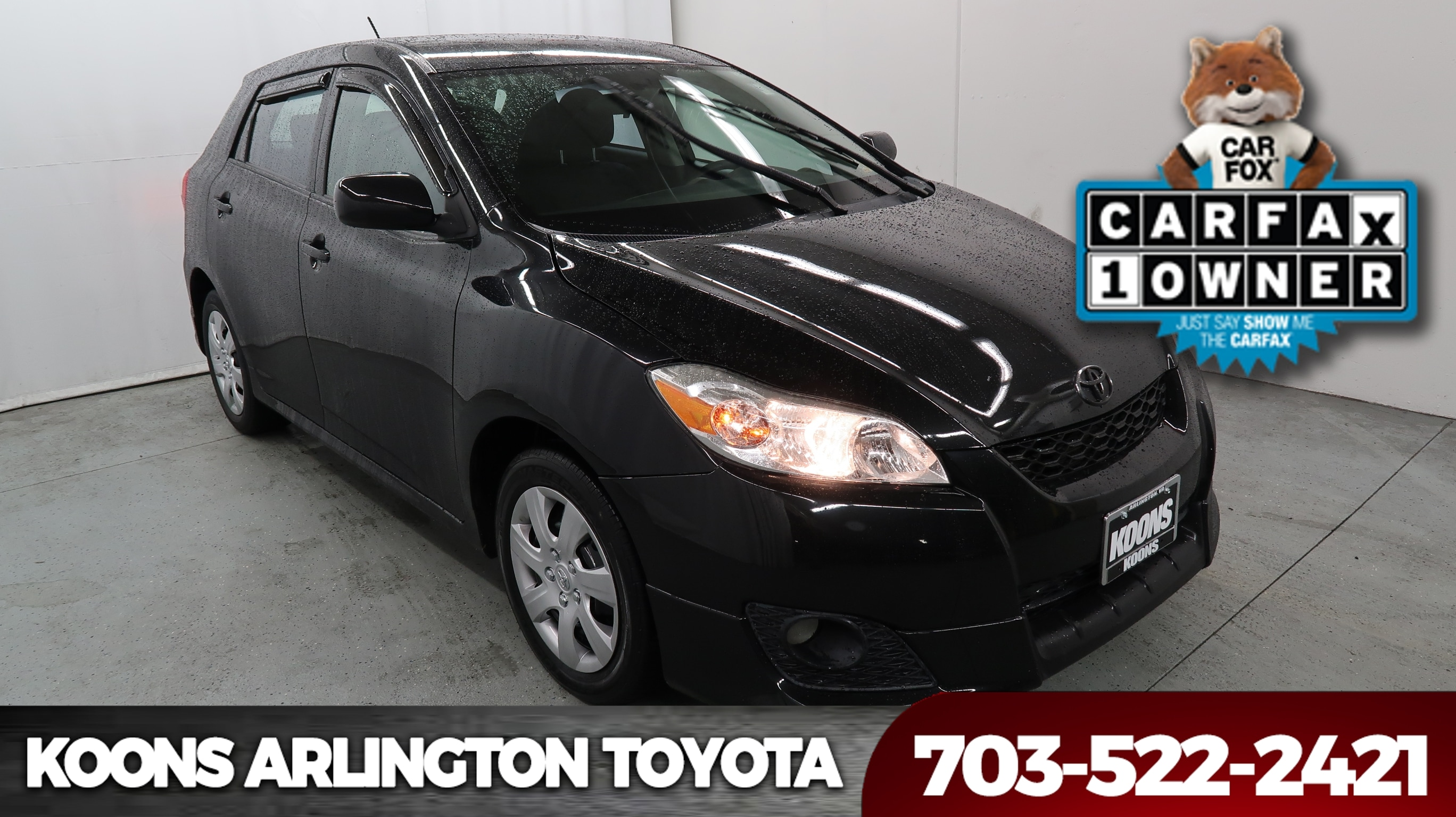 2010 Toyota Matrix S AWD Hatchback