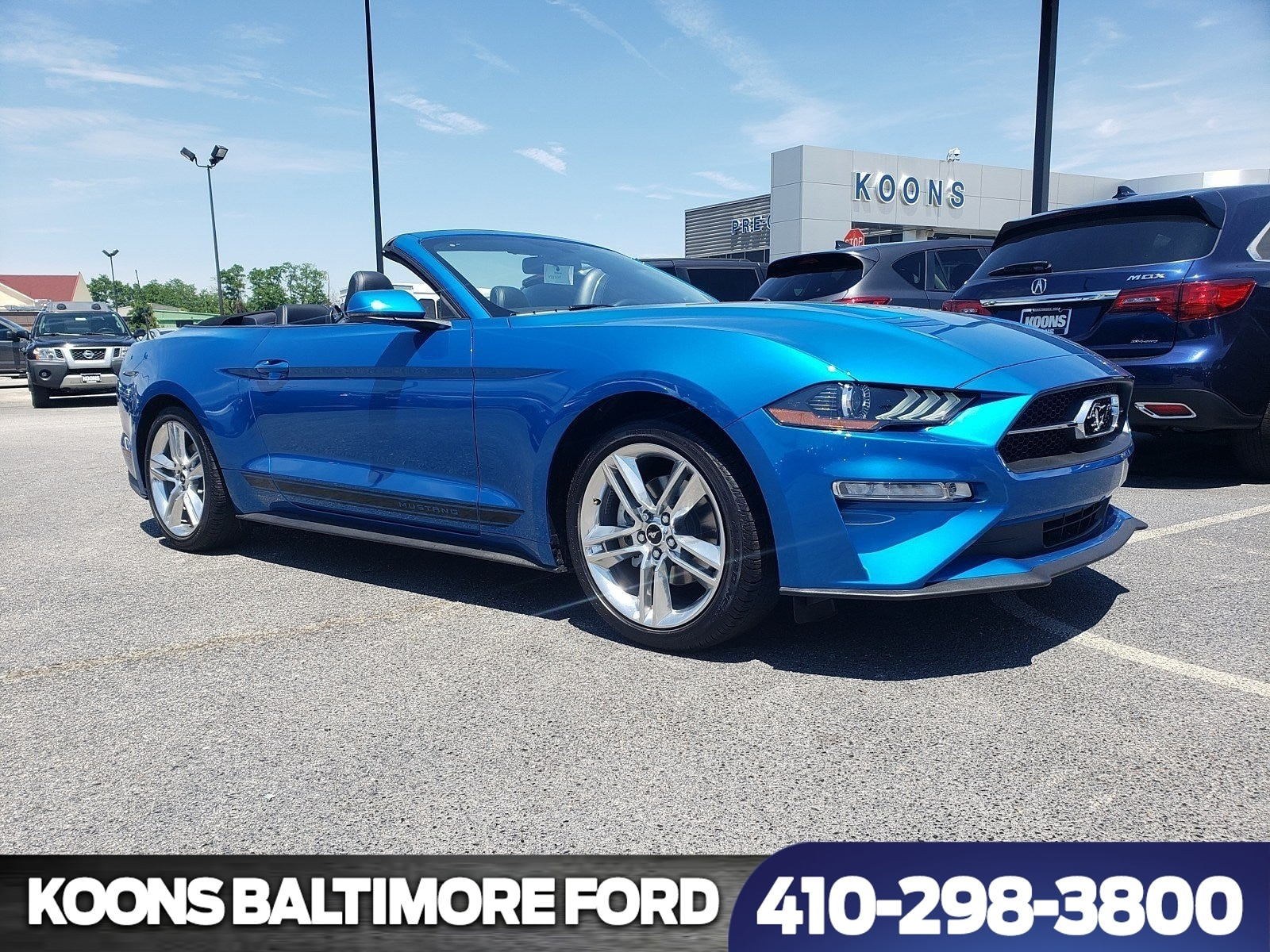 2019 ford mustang ecoboost premium for sale baltimore md jim