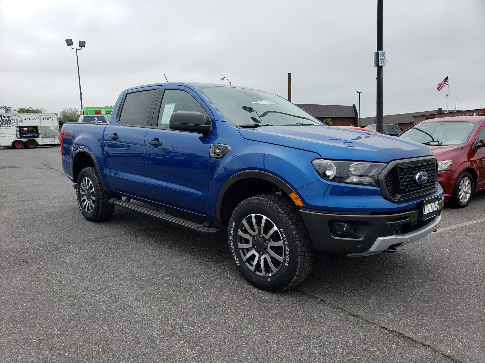 New 2019 Ford Ranger For Sale at Koons Sterling Ford | VIN
