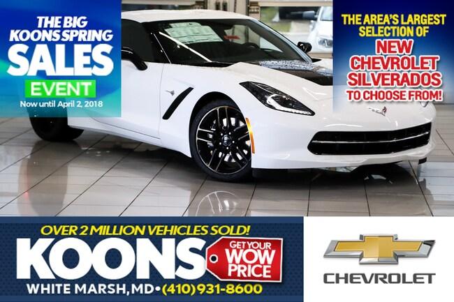 2019 Chevrolet Corvette Stingray Z51 For Sale White Marsh Md Jim