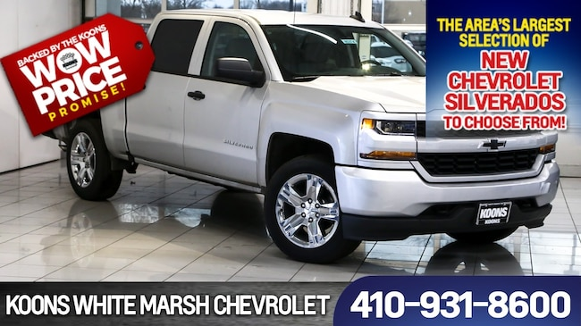 2018 Chevrolet Silverado 1500 Silverado Custom For Sale White Marsh Md