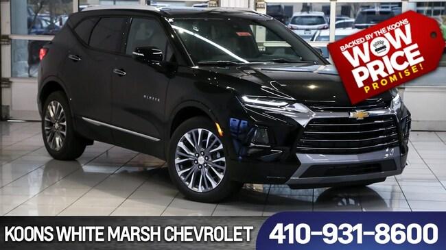 2019 Chevrolet Blazer Premier For Sale White Marsh Md Jim Koons