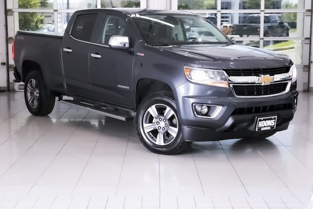Featured used vehicles 2017 Chevrolet Colorado LT Truck for sale near you in Owings Mills, MD near Baltimore