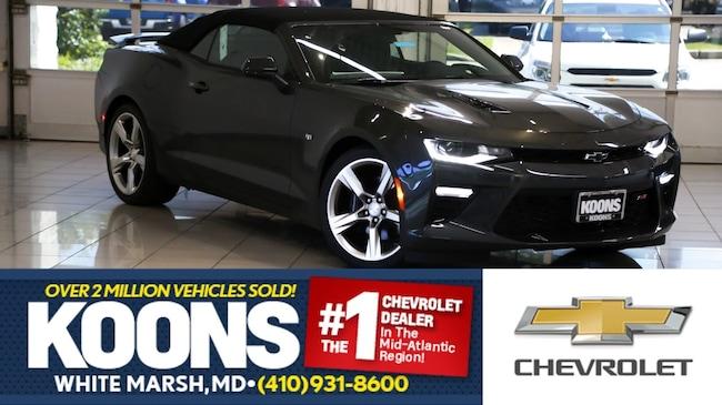 2018 Chevrolet Camaro 2ss For Sale White Marsh Md Jim Koons
