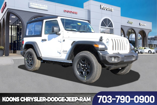 New Jeep Wrangler For Sale In Vienna At Koons Chrysler Dodge