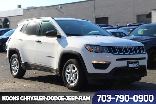 New 2019 Jeep Compass SPORT FWD Sport Utility near Fairfax