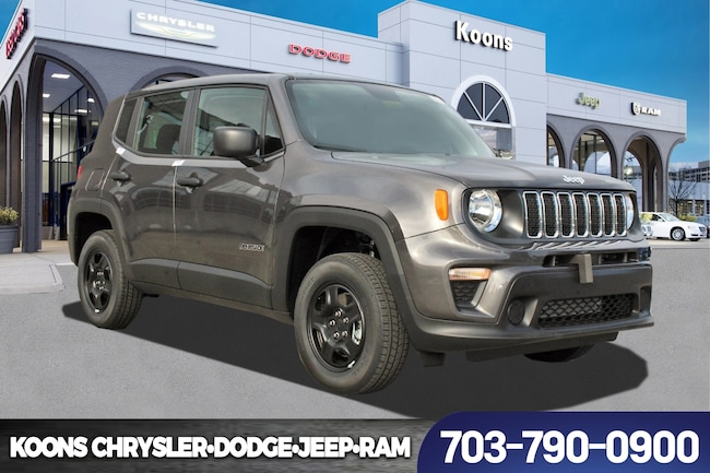 New 2019 Jeep Renegade SPORT 4X4 Sport Utility near Fairfax