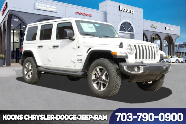 New 2019 Jeep Wrangler UNLIMITED SAHARA 4X4 Sport Utility near Fairfax