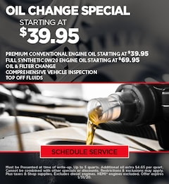 Jan Oil Change update