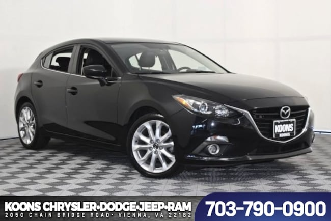 Used 2015 Mazda Mazda3 S TOURING Hatchback For Sale near Fairfax, VA