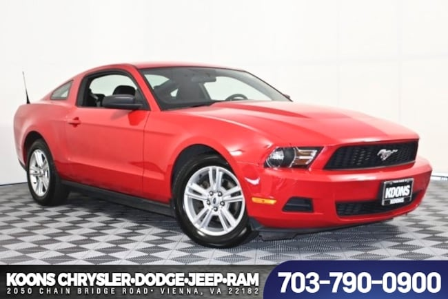Used 2010 Ford Mustang Coupe For Sale near Fairfax, VA