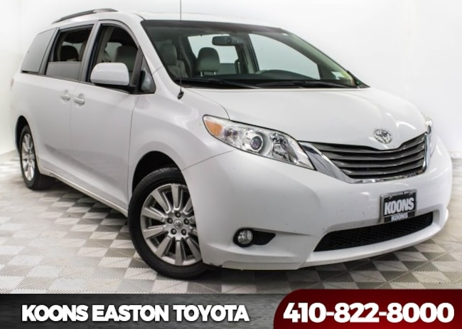 Used 2013 Toyota Sienna XLE Minivan/Van in Easton, MD