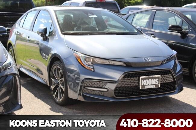 New 2020 Toyota Corolla XSE Sedan in Easton, MD