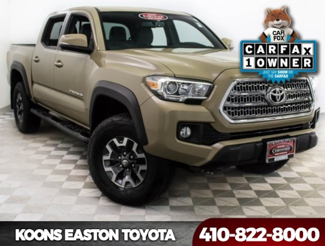 2016 Toyota Tacoma TRD Offroad Truck in Maryland