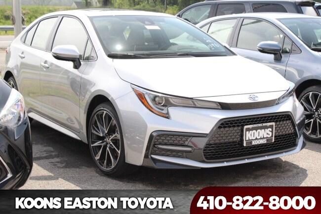 New 2020 Toyota Corolla SE Sedan in Easton, MD