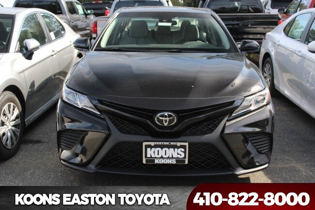 New 2018 Toyota Camry XLE Sedan in Annapolis