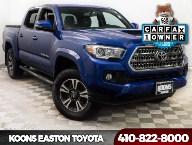 Used 2017 Toyota Tacoma TRD Sport Truck in Easton, MD