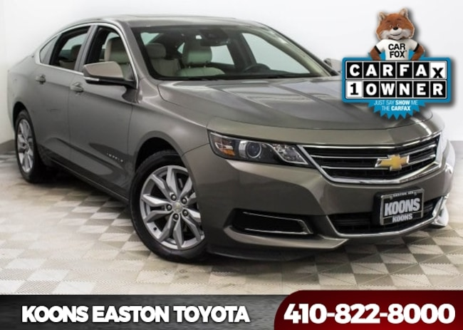 Used 2017 Chevrolet Impala LT Sedan in Easton, MD