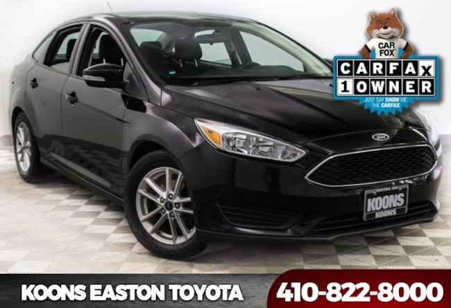 Used 2016 Ford Focus SE Sedan in Easton, MD