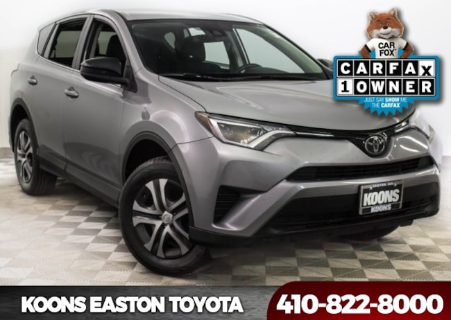 Used 2017 Toyota RAV4 LE SUV in Easton, MD