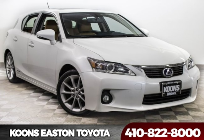 Used 2013 LEXUS CT 200h Hatchback in Easton, MD