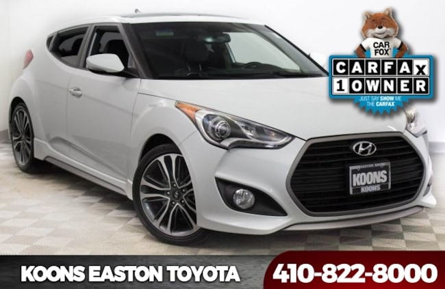Used 2016 Hyundai Veloster Turbo Hatchback in Easton, MD