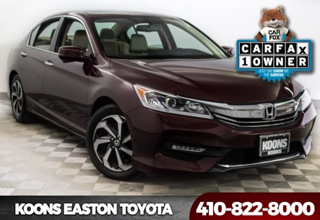 Used 2016 Honda Accord EX-L Sedan in Easton, MD